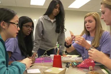 UVA's Society of Women Engineers Host High School Women