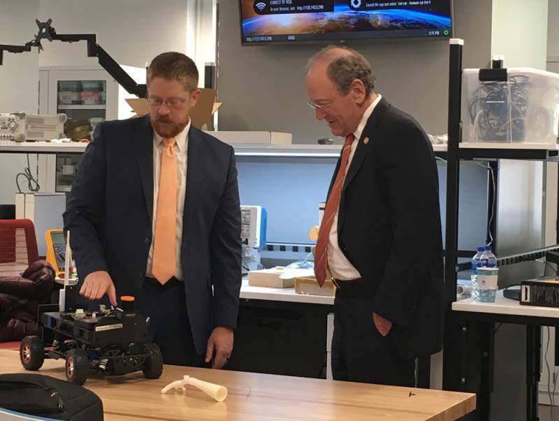 Secretary of Commerce and Trade Visits UVA